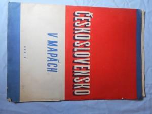 náhled knihy - Československo v mapách
