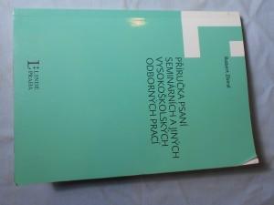 náhled knihy - Příručka psaní seminárních a jiných vysokoškolských odborných prací