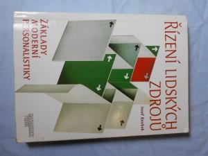 náhled knihy - Řízení lidských zdrojů: Základy moderní personalistiky