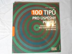 náhled knihy - 100 tipů pro úspěšný prodej