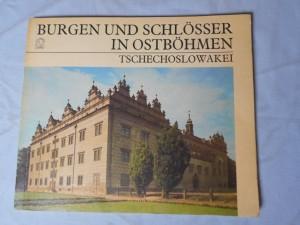 náhled knihy - Burgen und Schlösser in ostböhmen, Tschechoslowakei