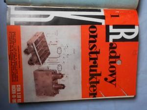 náhled knihy - Rádiový konstruktér