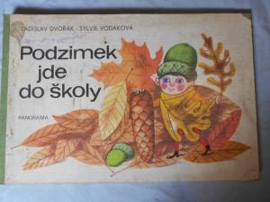 náhled knihy - Podzimek jde do školy