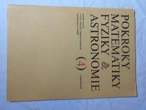 náhled knihy - Pokroky matematiky, fyziky a astronomie 4 ročník XIX