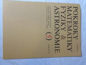 náhled knihy - Pokroky matematiky, fyziky a astronomie 5 ročník XXV