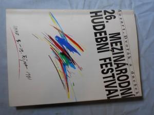 náhled knihy - 26. mezinárodní hudební festival 1991: Brno 3. - 13. října: Mozart, Dvořák a dnešek: Program festivalu