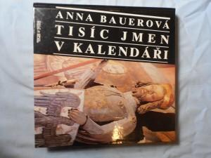 náhled knihy - Tisíc jmen v kalendáři