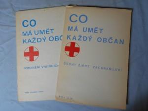 náhled knihy - Co má umět každý občan, Úkony život zachraňující, Poranění vnitřních orgánů