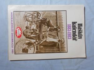 náhled knihy - Minikalendář Dikobrazu: Haškův kalendář 1883-1983