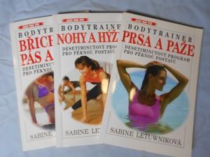 náhled knihy - Bodytrainer: Prsa paže, Nohy hýždě, Břicho pas a boky