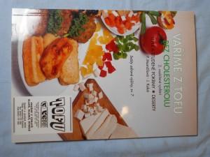 náhled knihy - Vaříme z tofu bez cholesterolu : teplé a studené pokrmy, deserty