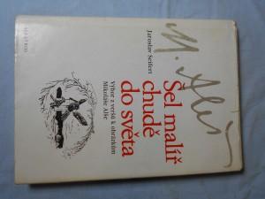 náhled knihy - Šel malíř chudě do světa : verše k obrázkům Mikoláše Alše