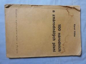 náhled knihy - 100 národních a znárodnělých písní