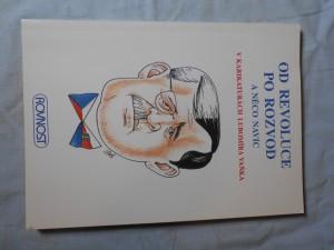 náhled knihy - Od revoluce po rozvod a něco navíc v karikaturách Lubomíra Vaňka