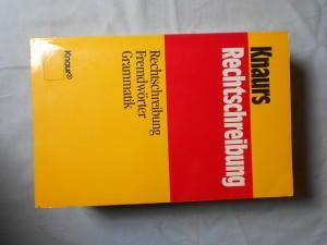 náhled knihy - Knaurs Rechtschreibung : Rechtschreibung, Fremdwörter, Grammati