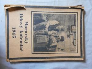 náhled knihy - Moravský lidový kalendář 1945