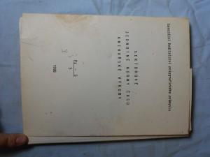 náhled knihy - Sektorové jednotné normy času knihařské výroby