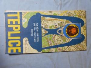 náhled knihy - Teplice: Plán města