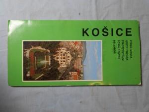 náhled knihy - Košice: Orientačná mapa stredu mesta1. vydanie