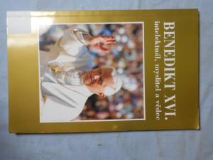 náhled knihy - Benedikt XVI. : intelektuál, myslitel a vědec