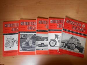 náhled knihy - Motoristická současnost: Čtvrtletník světa motorů, Ročník I. č. 1, 2, 3, 4.