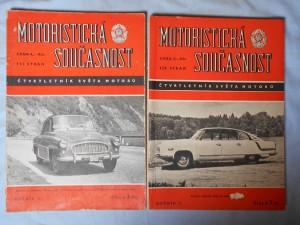 náhled knihy - Motoristická současnost: Čtvrtletník světa motorů, Ročník III, číslo 3 (11) a Ročník II, číslo 3 (7).