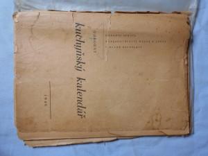 náhled knihy - Odborný kuchyňský kalendář 1948