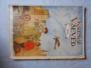 náhled knihy - Kalendář vševěd 1939, ročník XV.