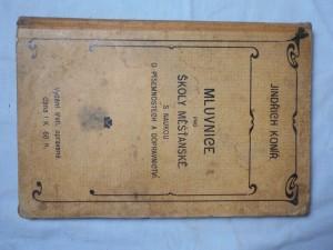 náhled knihy - Mluvnice pro školy měšťanské : s naukou o písemnostech a dopravnictví
