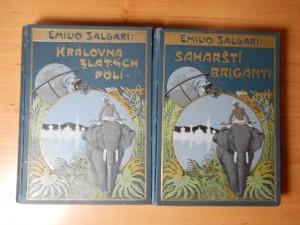 náhled knihy - Královna zlatých polí, Saharští Briganti
