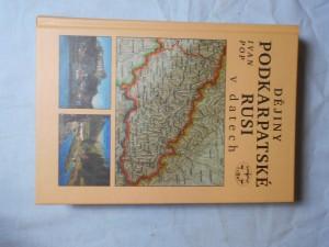 náhled knihy - Dějiny Podkarpatské Rusi v datech