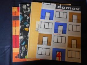 náhled knihy - Domov : Časopis pro bytovou kulturu a techniku v domácnosti, 1960 č. 4., 1961 č. 1.,2., 1963 č. 2.