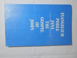 náhled knihy - Evangelium podle Jana = The Gospel of John : V českém ekumenickém překladu Gospel of Joh