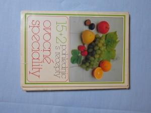 náhled knihy - 15+1 pohlednic s recepty : Ovocné speciality