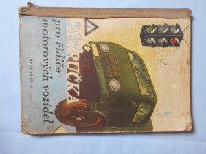 náhled knihy - Příručka pro řidiče motorových vozidel