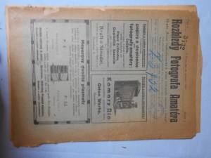 náhled knihy - Rozhledy fotografa amatéra Ročník I., číslo 1-6. Rok 1921