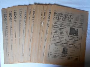 náhled knihy - Rozhledy fotografa amatéra Ročník 2., číslo 1- 12. Rok 1922