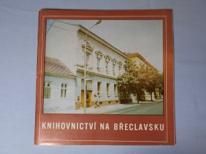 náhled knihy - Knihovnictví na Břeclavsku