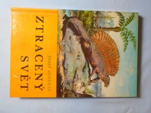 náhled knihy - Ztracený svět : populárně naučná četba doplňující paleontologické učivo učebnic botaniky, zoologie a biologie člověka na všeobec. vzdělávacích školách