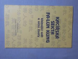 náhled knihy - Kacířská sekta Fa-lun kung : Klamající svět a ničící životy