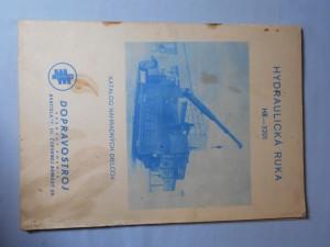 náhled knihy - Hydraulická ruka HR - 3201 : Katalóg náhradných dielcov