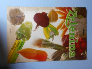 náhled knihy - Zelenina známá i neznámá