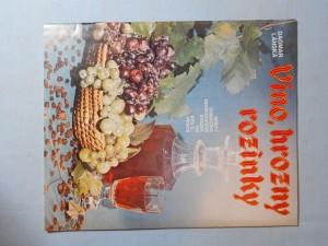 náhled knihy - Víno, hrozny rozinky, Sešity domácího hospodaření svazek 164.