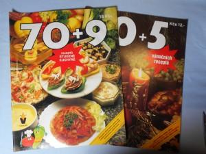 náhled knihy - 70+9 receptů studené kuchyně 1. díl, 40+5 vánočních receptů