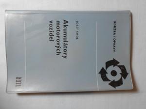náhled knihy - Akumulátory motorových vozidel