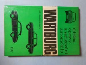 náhled knihy - Údržba, opravy a seřizování automobilu Wartburg