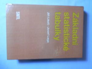 náhled knihy - Základní statistické tabulky : Určeno [také] pro stud. všech škol ekon. a techn. směru