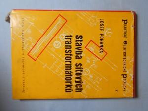 náhled knihy - Stavba síťových transformátorků