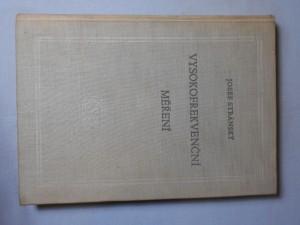 náhled knihy - Vysokofrekvenční měření : Celost. vysokoškolská učebnice