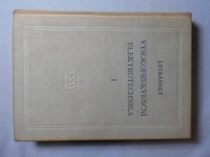 náhled knihy - Vysokofrekvenční elektrotechnika. 1. [díl